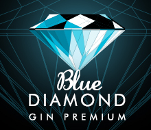 Blue Diamond. Gin Premium Sevilla