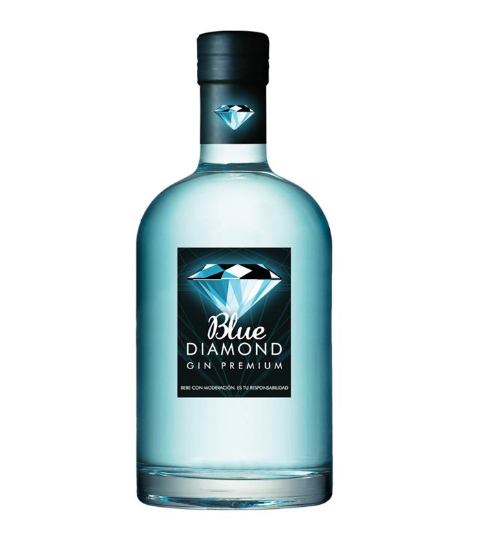 Blue Diamond. Gin Premium Sevilla